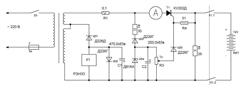 Схема зарядника перфоратора Bosh AL1115CV - Форум РадиоЛоцман.