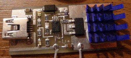 Девайс разрабатывался для зарядки Li-ion аккумулятора на 3.7 V от...