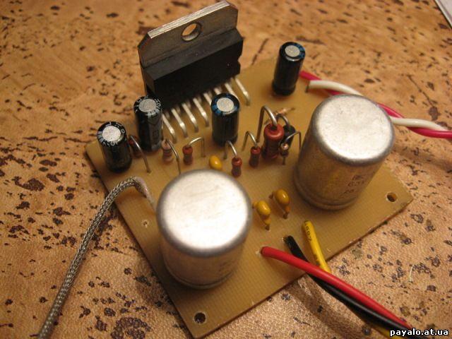 Усилитель на TDA7294 - даёшь качественный звук!
